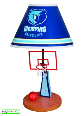 Memphis Grizzlies Table Lamp