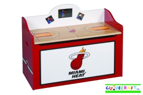 Miami Heat Toy Box