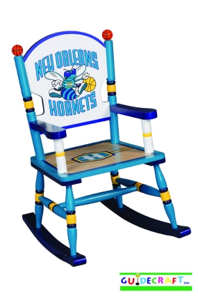 Charlotte Hornets Kid's Rocking Chair