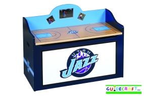 Utah Jazz Toy Box