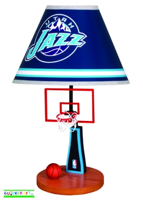 Utah Jazz Table Lamp
