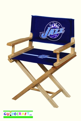 Utah Jazz Youth Director's Chair