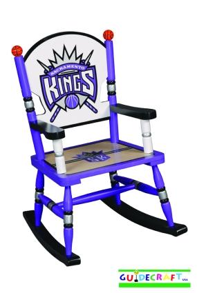 Sacramento Kings Kid's Rocking Chair