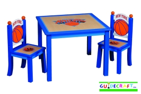 New York Knicks Youth Table and Chairs