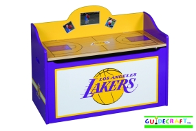 Los Angeles Lakers Toy Box