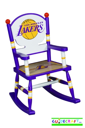 Los Angeles Lakers Kid's Rocking Chair