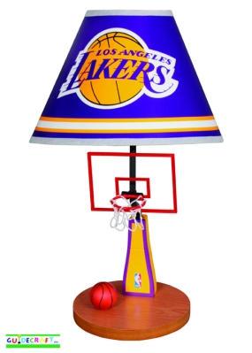 Los Angeles Lakers Table Lamp