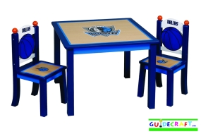 Dallas Mavericks Youth Table and Chairs
