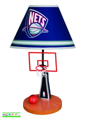 New Jersey Nets Table Lamp