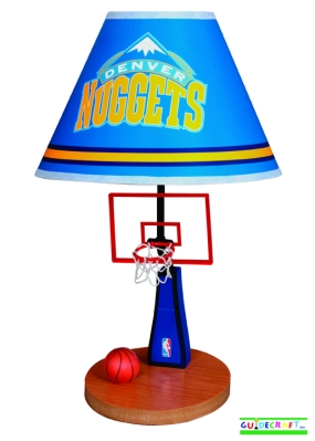 Denver Nuggets Table Lamp