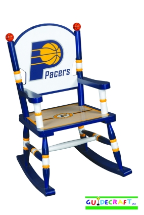 Indiana Pacers Kid's Rocking Chair