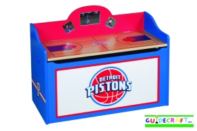 Detroit Pistons Toy Box