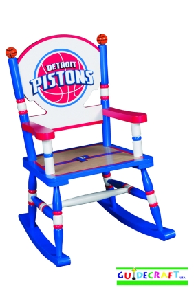 Detroit Pistons Kid's Rocking Chair