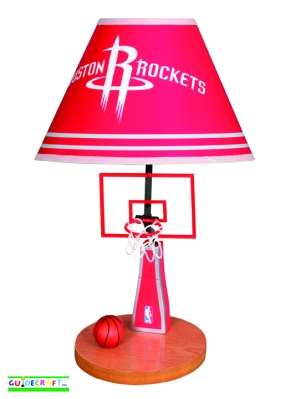 Houston Rockets Table Lamp