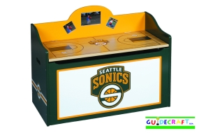Seattle Sonics Toy Box