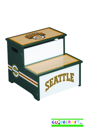 Seattle Sonics Storage Step Up