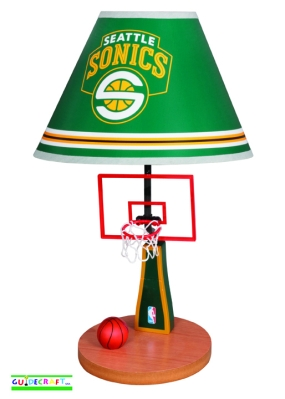 Seattle Sonics Table Lamp