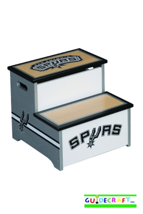 San Antonio Spurs Storage Step Up