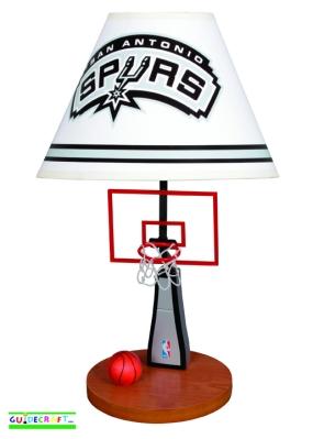San Antonio Spurs Table Lamp