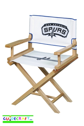 San Antonio Spurs Youth Director's Chair