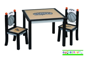 San Antonio Spurs Youth Table and Chairs