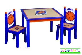 Phoenix Suns Youth Table and Chairs