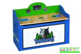Minnesota Timberwolves Toy Box