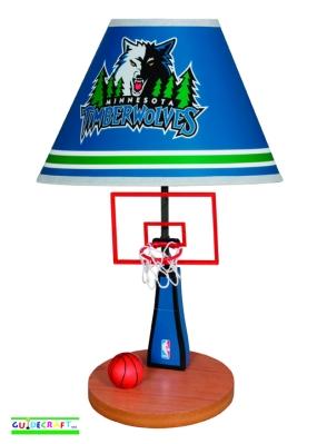 Minnesota Timberwolves Table Lamp