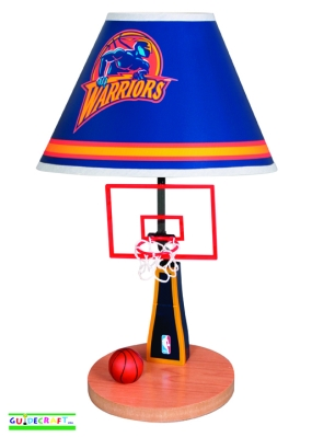 Golden State Warriors Table Lamp