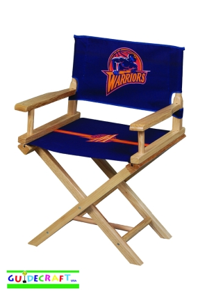 Golden State Warriors Youth Director's Chair