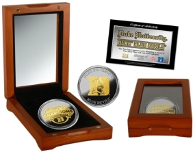 2010 NCAA Basketball Champions Two Tone Coin