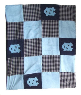 North Carolina Tar Heels Quilt