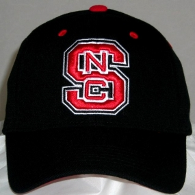 N.C. State Wolfpack Black One Fit Hat