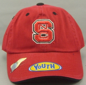 N.C. State Wolfpack Youth Crew Adjustable Hat