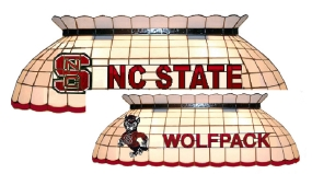 N.C. State Wolfpack Pool Table Light