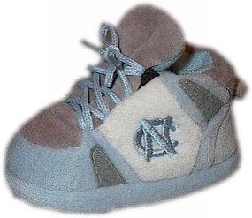 North Carolina Tar Heels Baby Slippers