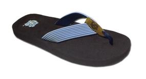 North Carolina Tar Heels Flip Flop Sandals