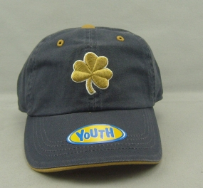 Notre Dame Fighting Irish Youth Crew Adjustable Hat