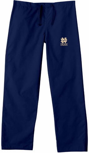 Notre Dame Fighting Irish Scrub Pants