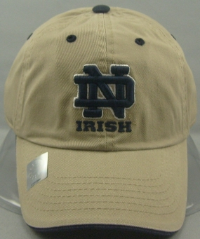 Notre Dame Fighting Irish Adjustable Crew Hat