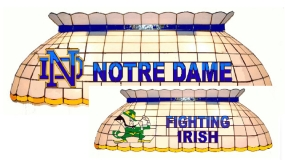 Notre Dame Fighting Irish Pool Table Light