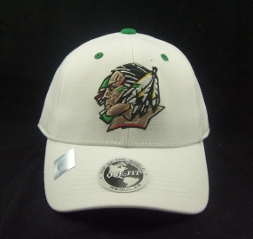 North Dakota Fighting Sioux White One Fit Hat