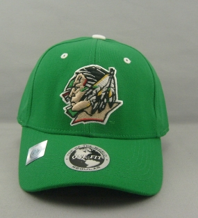 North Dakota Fighting Sioux Team Color One Fit Hat