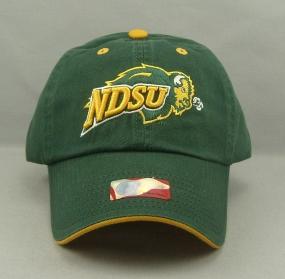 North Dakota State Bison Adjustable Crew Hat