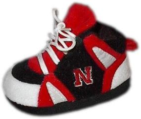 Nebraska Cornhuskers Baby Slippers