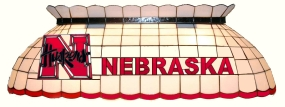 Nebraska Cornhuskers Pool Table Light