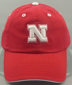 Nebraska Cornhuskers Adjustable Crew Hat