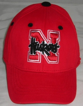 Nebraska Cornhuskers Infant One Fit Hat