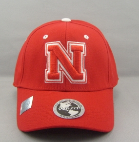 Nebraska Cornhuskers Team Color One Fit Hat