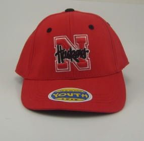 Nebraska Cornhuskers Youth Team Color One Fit Hat